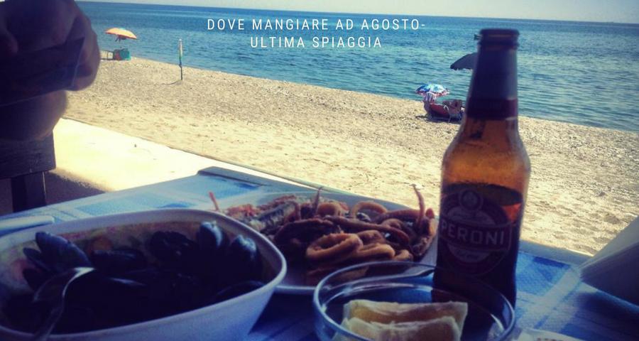 dove mangiare a Calabria - tramonto