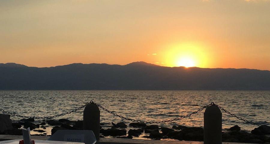 Dove mangiare a reggio calabria - tramonto