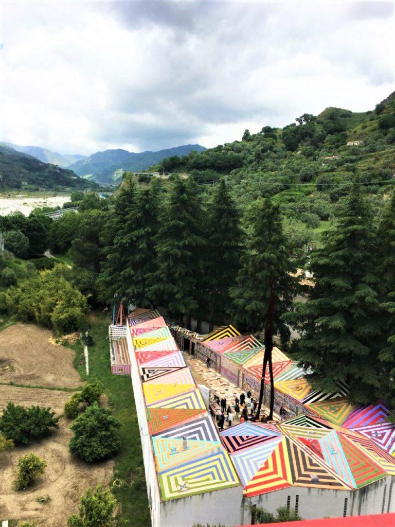 Antica foresteria del Parco Musaba - veduta dall'altoVe